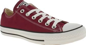 733e04b5356 Converse Burgundy All Star Oxford Womens Trainers The plimsoll that needs  no introduction