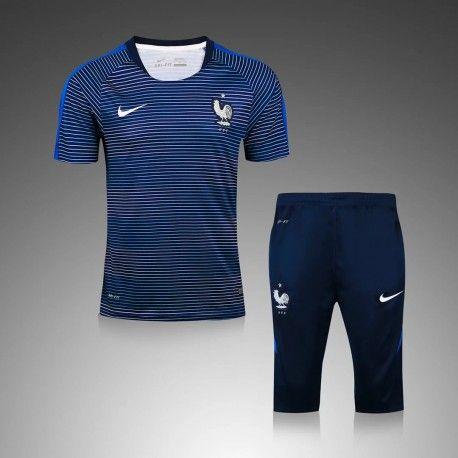 bdf177873c01f Maillot Training France Bleu Blanc   €19.99 - Maillot Équipes ...