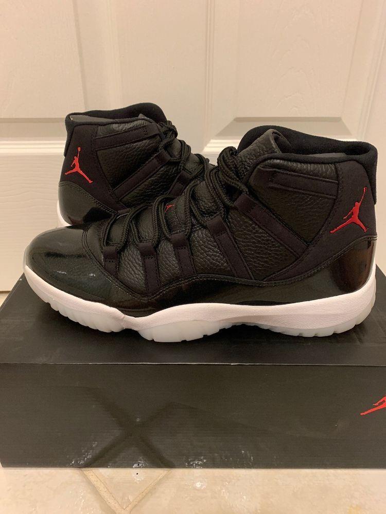 best website cfeda 7ba54 Nike Air Jordan 11 72-10 Size 12 XI Retro 7210 Black 378037 ...