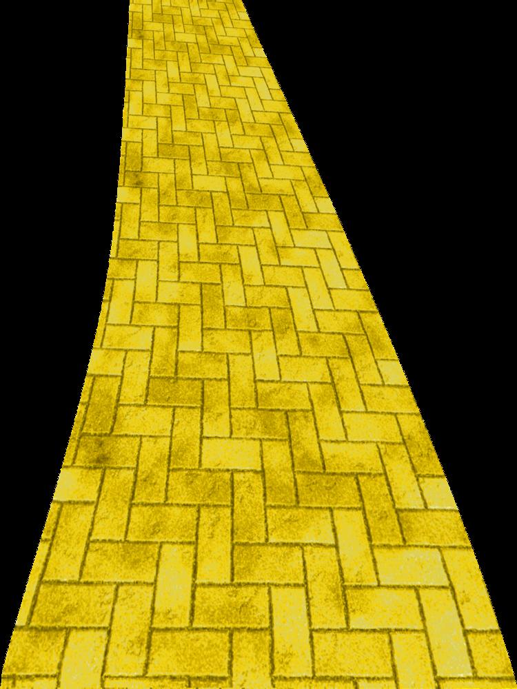 Yellow Brick Road Brick Road Yellow Brick Road Clip Art
