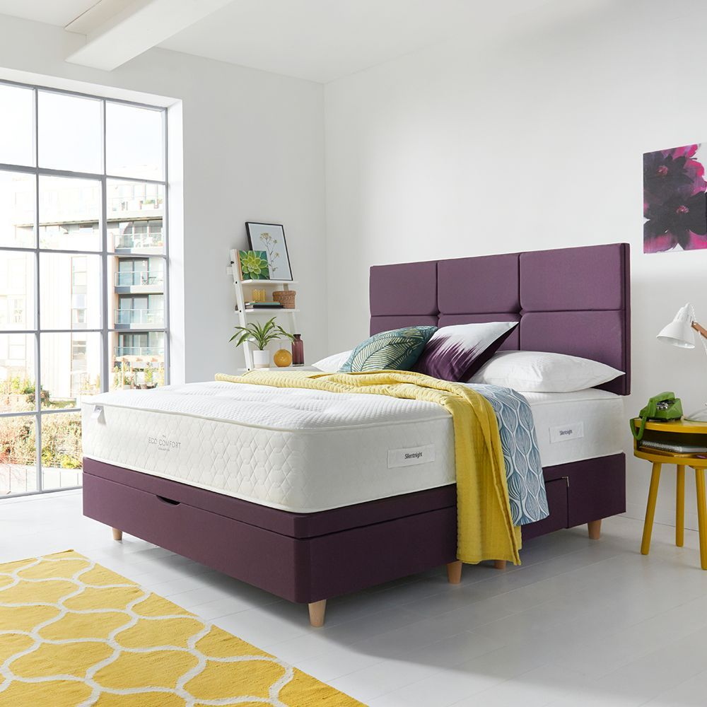 Violets And Purples Are Predicted To Be Great Colours Next Year Choose Your Silentnight Bed In Purple To Be Right On Trend Comfort Mattress Silentnight Bed