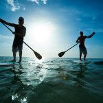 STAND UP PADDLEBOARDING What It Is: A hybrid between kayaking and surfing, grab a paddleboard and head out on the lake or ocean, paddling around in a standing position. It's not as hard as you'd think; they are surprisingly stable and are quite easy to propel and steer. 60 Ways to Get Out and Do More - 50 Campfires