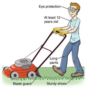Must Read Gardening Safety Tips Lawn Mower Lawn Care Tips Best Lawn Mower