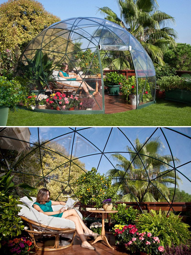 garden igloo four seasons a multipurpose geodesic dome. Black Bedroom Furniture Sets. Home Design Ideas
