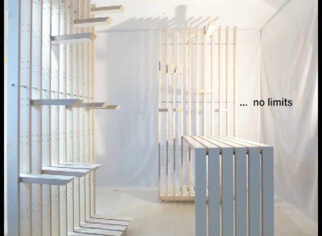 más que un biombo más que una estantería más que un muro etc...