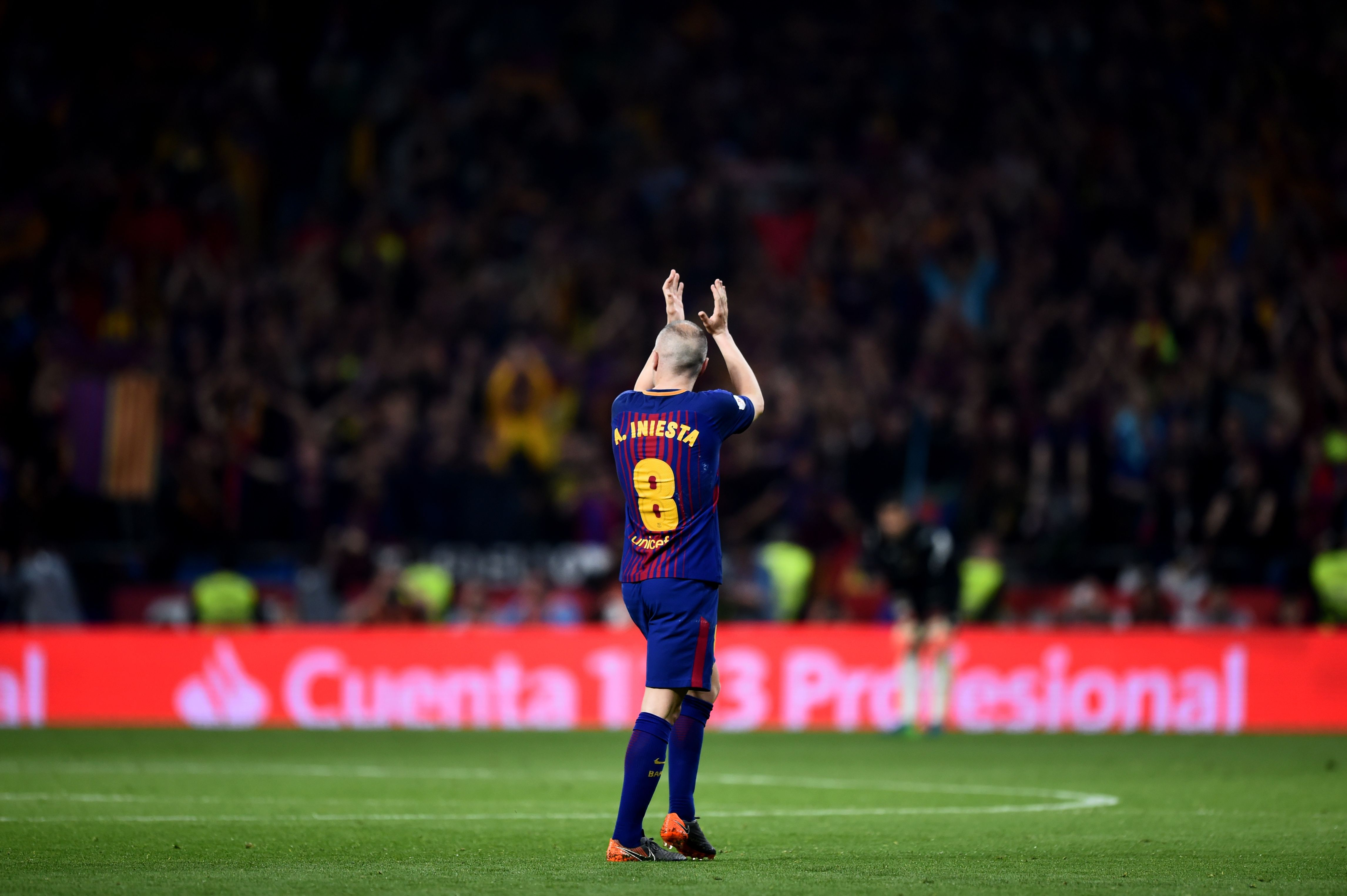 3f0184f71 Andrés Iniesta bids farewell. After over 600 appearances and more ...