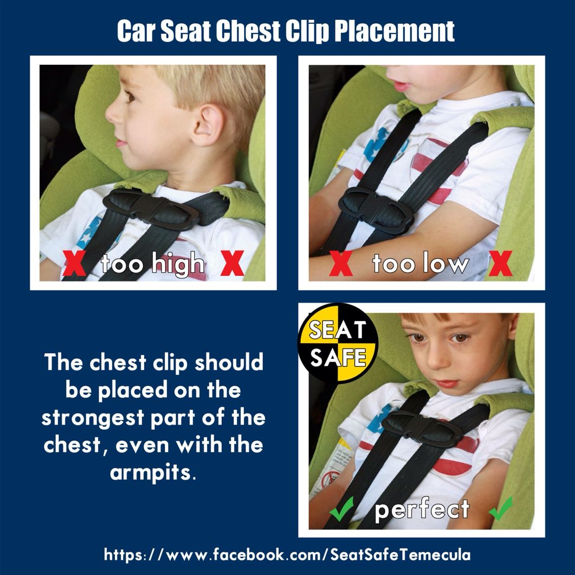 Car Seat Chest Clip Placement Facebook