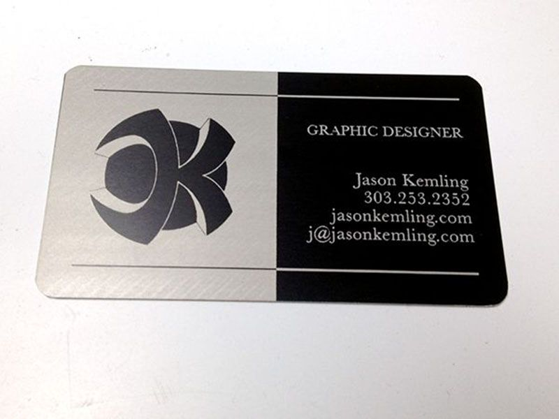 Metal business cards that are laser etched and laser engraved are metal business cards that are laser etched and laser engraved are the perfect business card to reheart Images