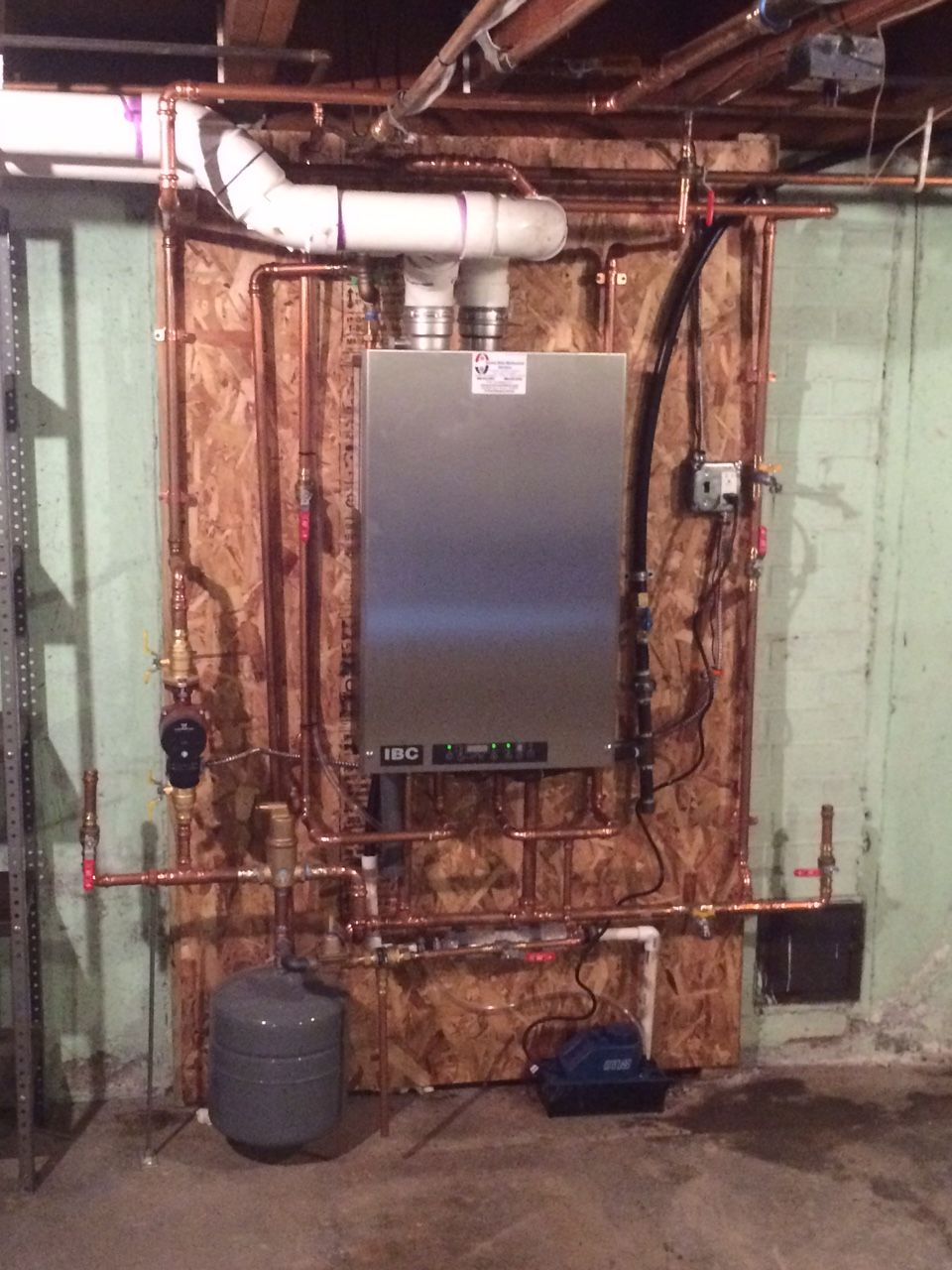 Check out the before and after pictures of an oil to gas