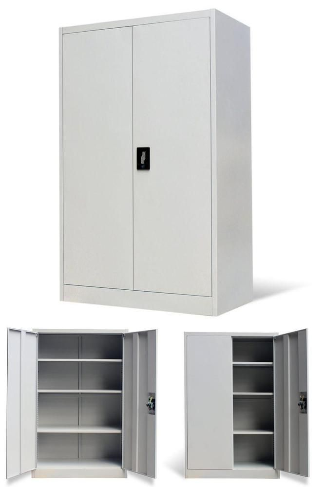 Metal Office Cabinet 3 Tiers Storage Unit Stationary Organiser