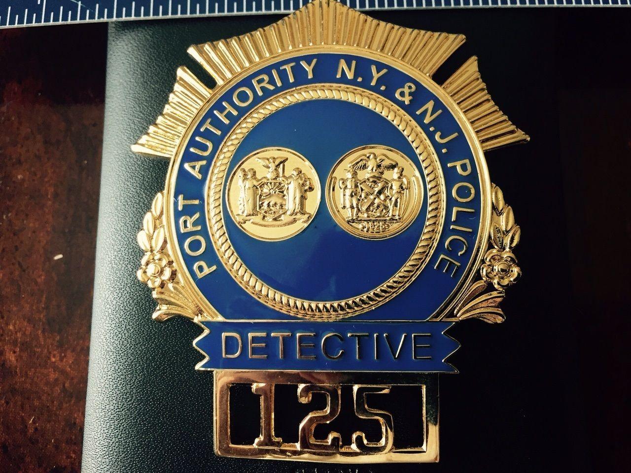 Ny Nj Port Authority Police Detective Hallmark Us Badge Co Ny Police Badge Fire Badge Police Patches