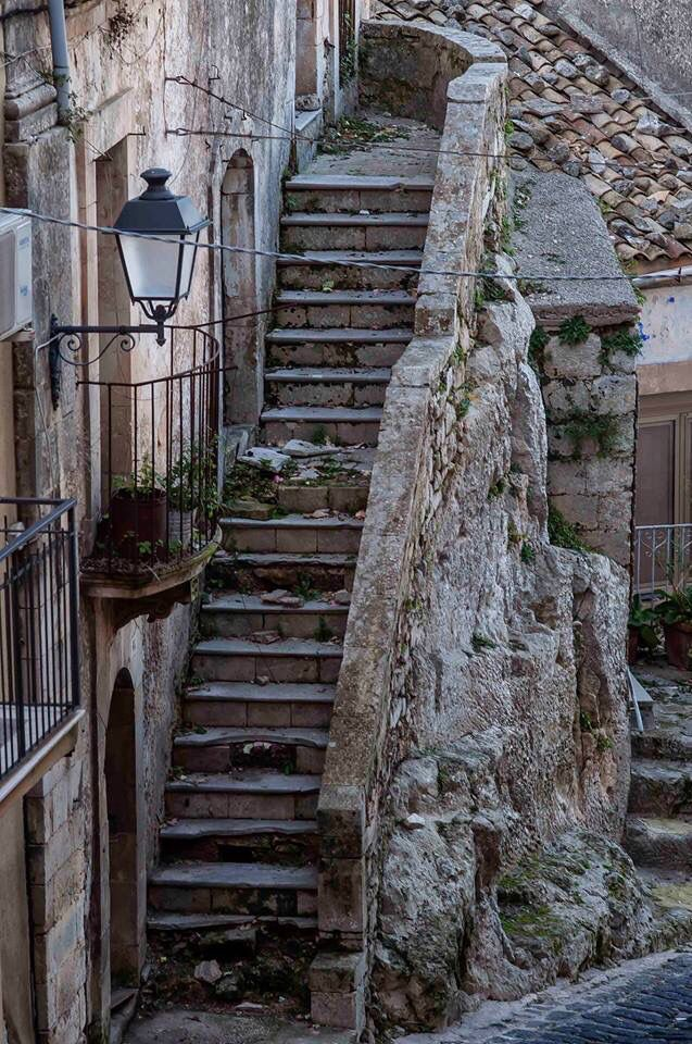 Old Stairway, Sicily