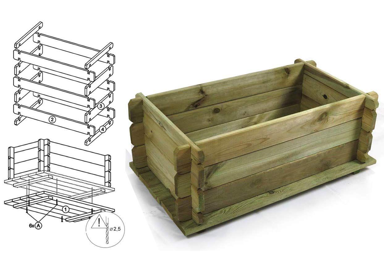 pflanzkasten selber bauen swalif. Black Bedroom Furniture Sets. Home Design Ideas