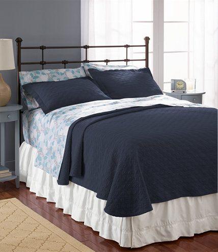 Diamond Stitch Matelass Bedspread | Free Shipping at L.L.Bean