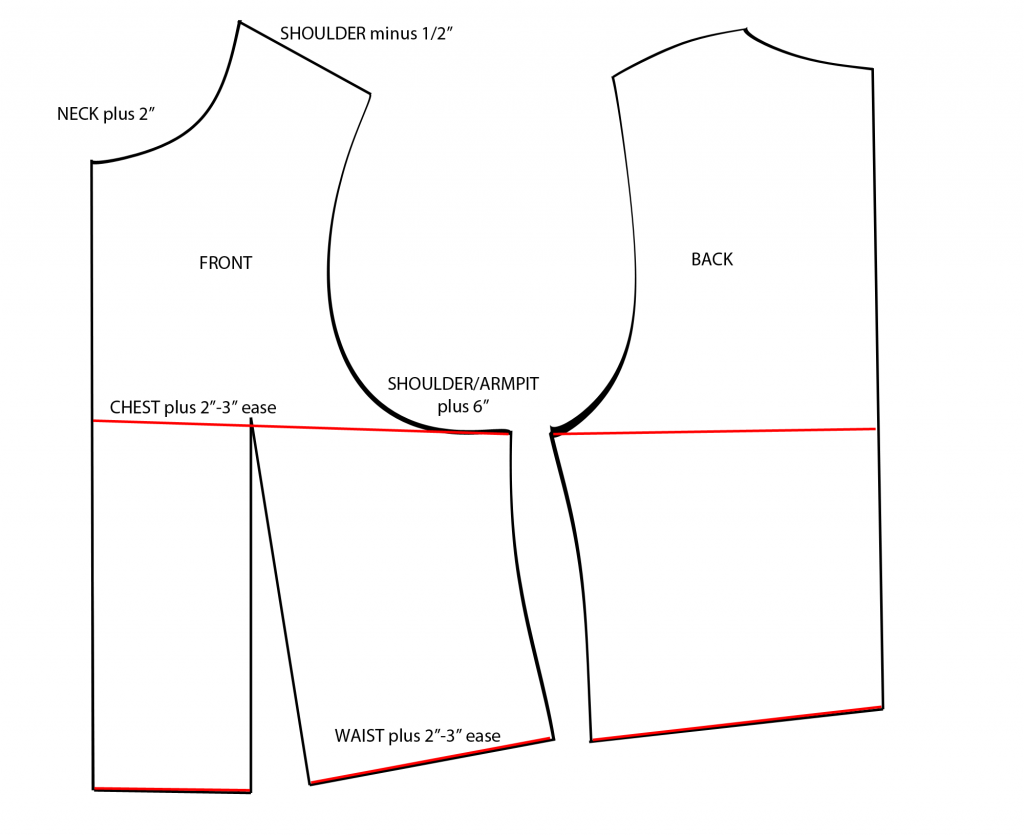 vest top template - female mandalorian armor template