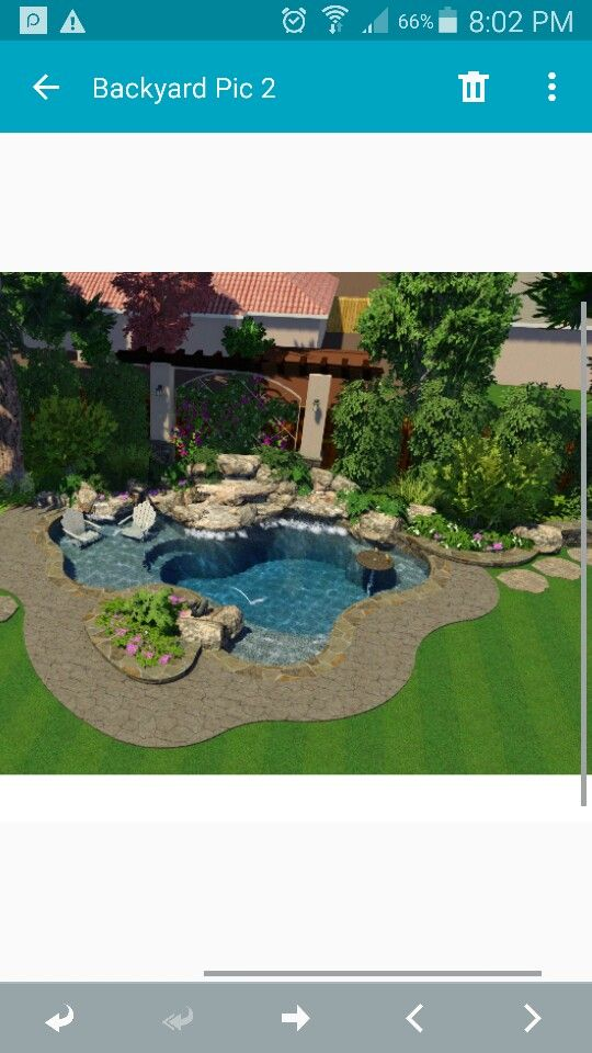 3D Design Of Our Spool Or Cocktail Pool