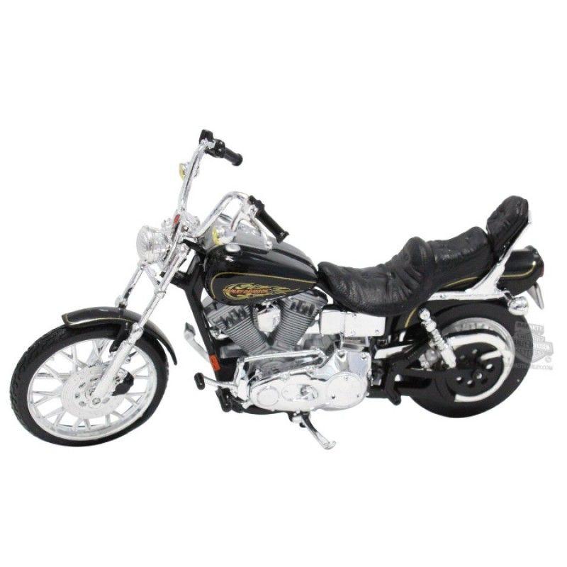 Moto Miniatura Harley Davidson Dyna Wide Glide 1:18 - Maisto