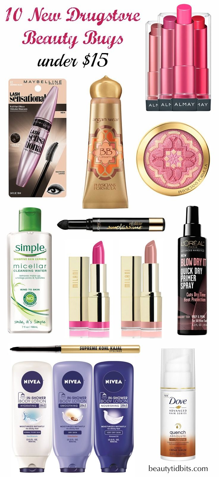 3 new drugstore noteworthy beauty finds