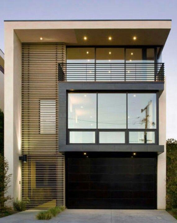 Minimalist modern 2 dwelling fachadas casas y for Design minimalista