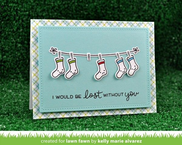 Combining Lawn Fawn Stamp Sets in Cardmaking | Simon Says Stamp Blog