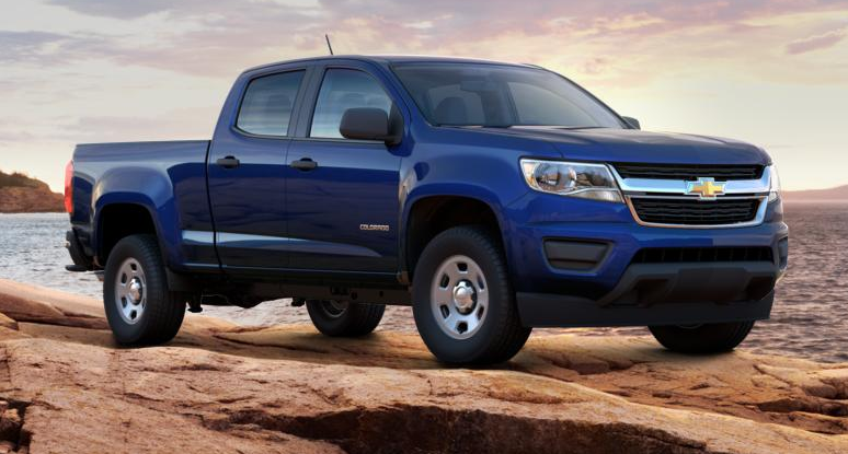 In Stock Now 2015 Chevrolet Colorado Lt Laser Blue Crew Cab