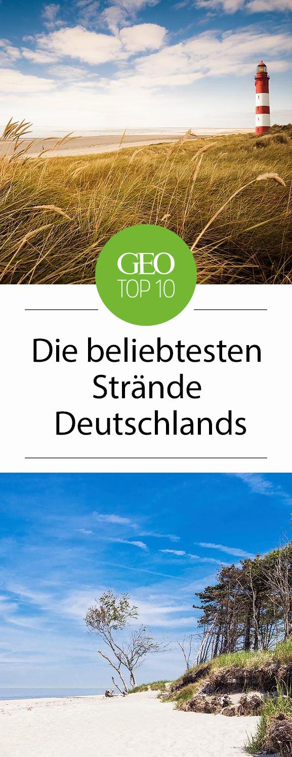 die topten der beliebtesten strände deutschlands  strand