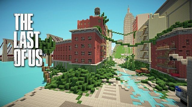 Download: http://minecrafteon com/the-last-of-us-map