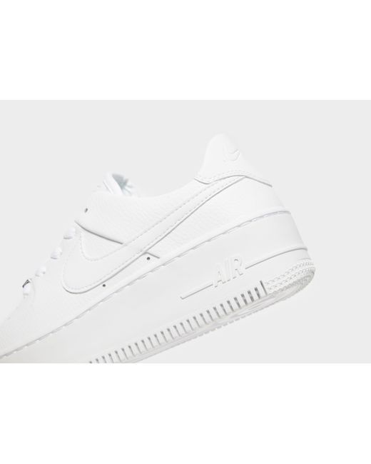 info for b0442 0fb9b Nike - White Air Force 1 Sage Low - Lyst