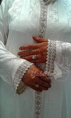 موديلات القميص بالراندة للعروسة خاص بالثوب جوهرة Beaded Embroidery Beaded Arm Warmers