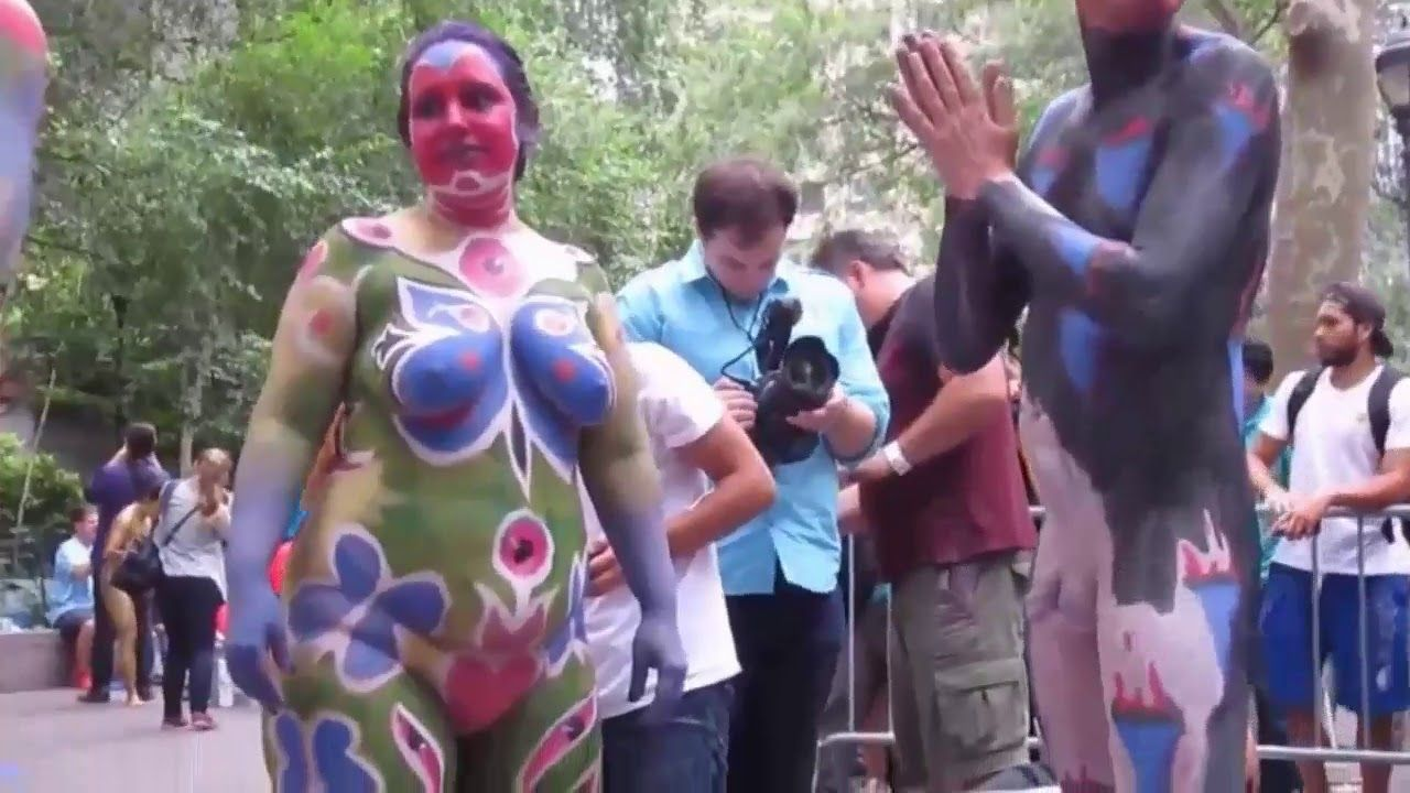 Hd World Bodypainting Festival New York 2017 Annual Body Painting Day 2018 World Bodypainting World Bodypainting Festival Bodypainting Good Day To You