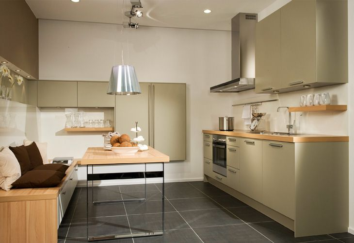 #Küche In Grün #Einbauküche Www.dyk360-kuechen.de