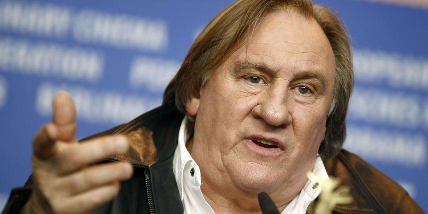 Gérard Depardieu se lâche lors de sa conférence de Presse à la Berlinale.