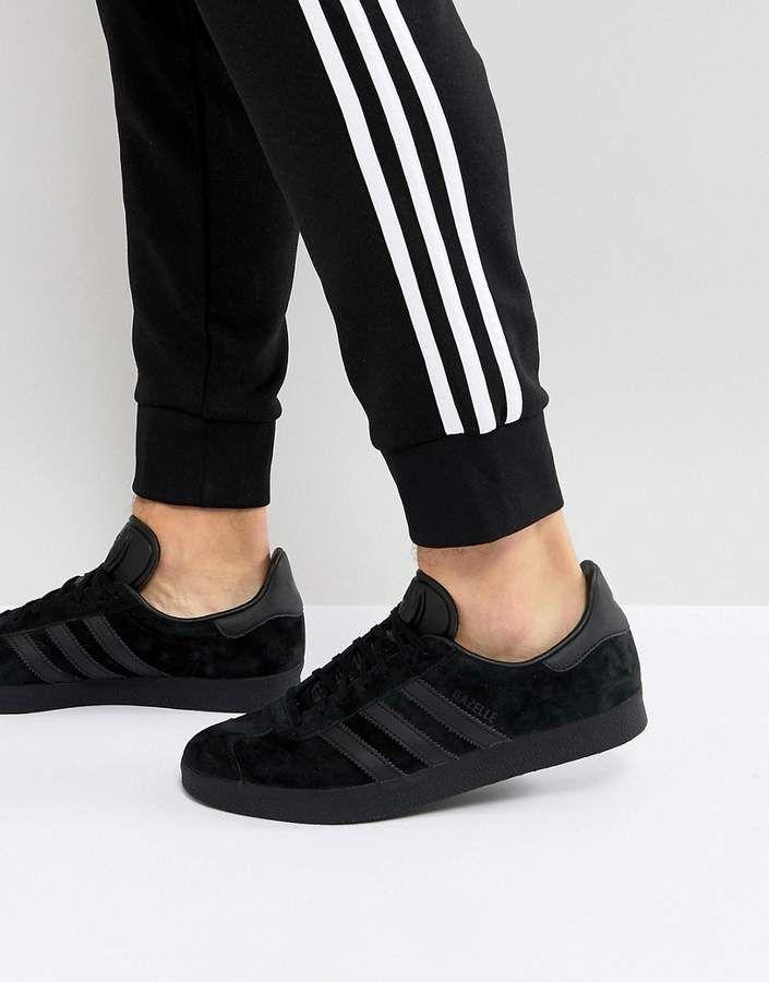 adidas originali gazzella scarpe nere cq2809 jay