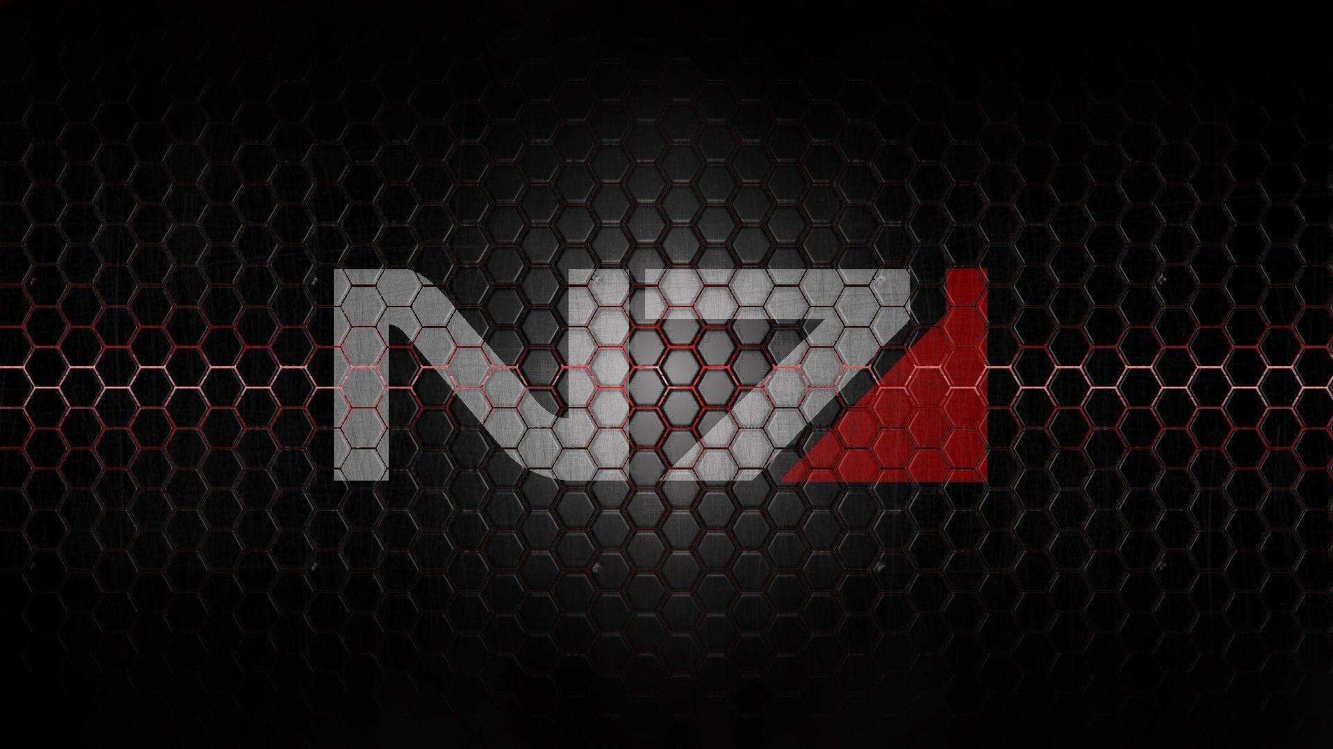Mass Effect N7 Wallpaper в 2019 г