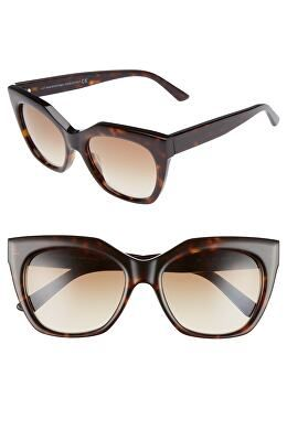 a326504500 BALENCIAGA Designer 54mm Cat Eye Sunglasses