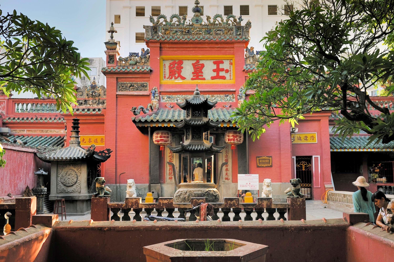 Jade Emperor Pagoda, Ho Chi Minh City, Vietnam.   Saigon vietnam, Vietnam,  Saigon