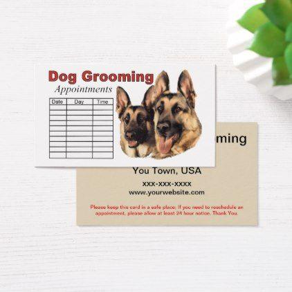German Shepherd Dog Grooming Appointment Zazzle Com