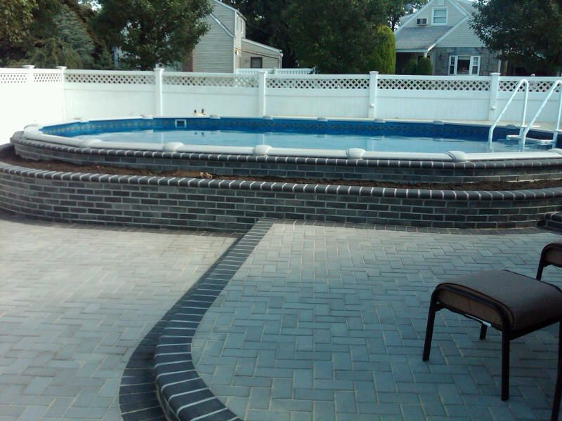 Semi inground pools pools semi inground pools pools for Pool dealers