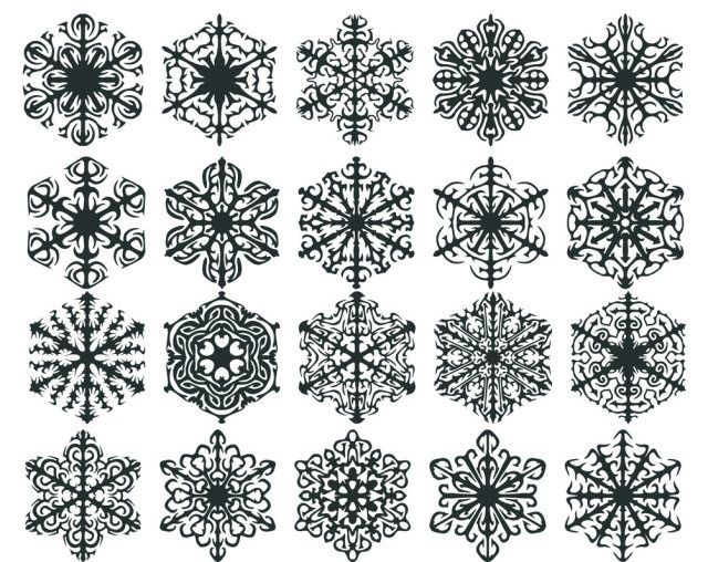 snowflake tattoos | snowflake tattoo designs | Tattoo Elements