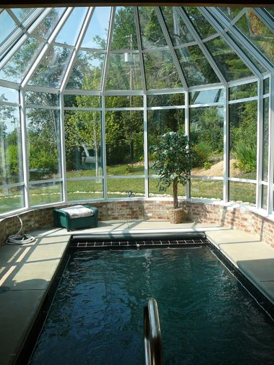 Endless Swim Spa In A Sunroom Dreams May Come True Favorite Places And Spaces Pinterest