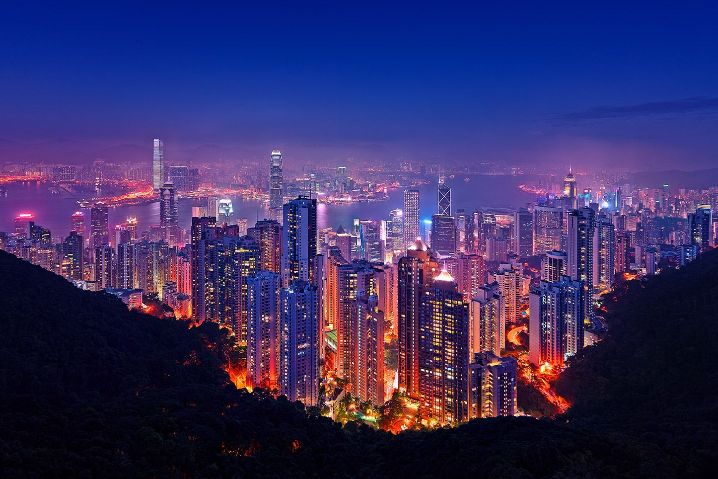 Hong Kong City Night Hongkong City Night Naturephotography Photooftheday Photograph Phototips A Cityscape Photography Landscape Photography Cityscape