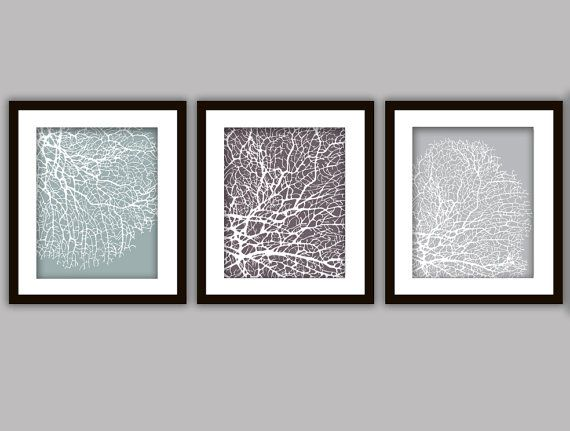 Bathroom C Art Prints Set Of 3 In Any Colour S