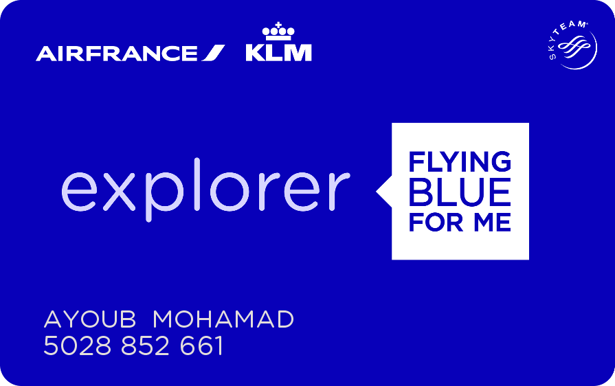 Flying Blue Hello Ayoub In 2020 Air France France Blue