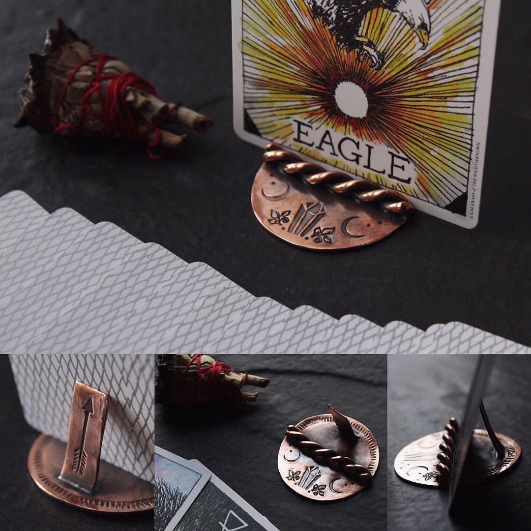 Moon tarot card holder tarot cards card holder tarot
