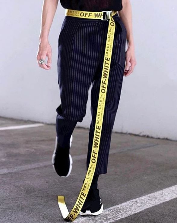 Pin By Yorkie On Women S Off White Belt Off White Industrial Belt Fashion