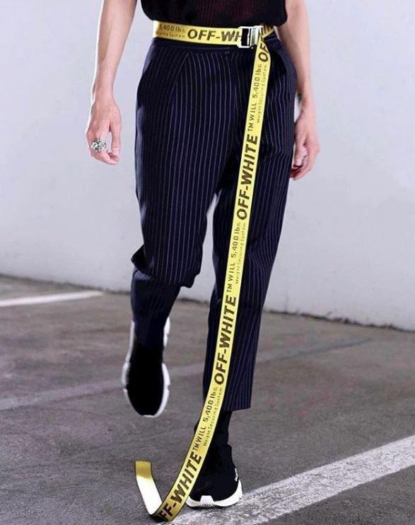 a31c08e07055c i want the belt | things i'd like to wear | Fashion, Off white ...