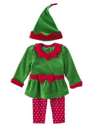 5f8ccef15d Baby  elf outfit for  Christmas