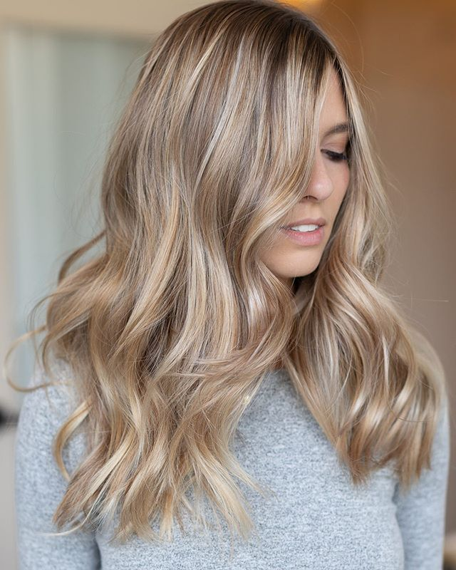 "Laci.Mane | Hairstylist on Instagram: ""Soft ✨Balayage . . . . . . #summervibes #livedinhair #beachhair #goldenbalayage #behindthechair #thesaltybabes #longhair #instahair…"""