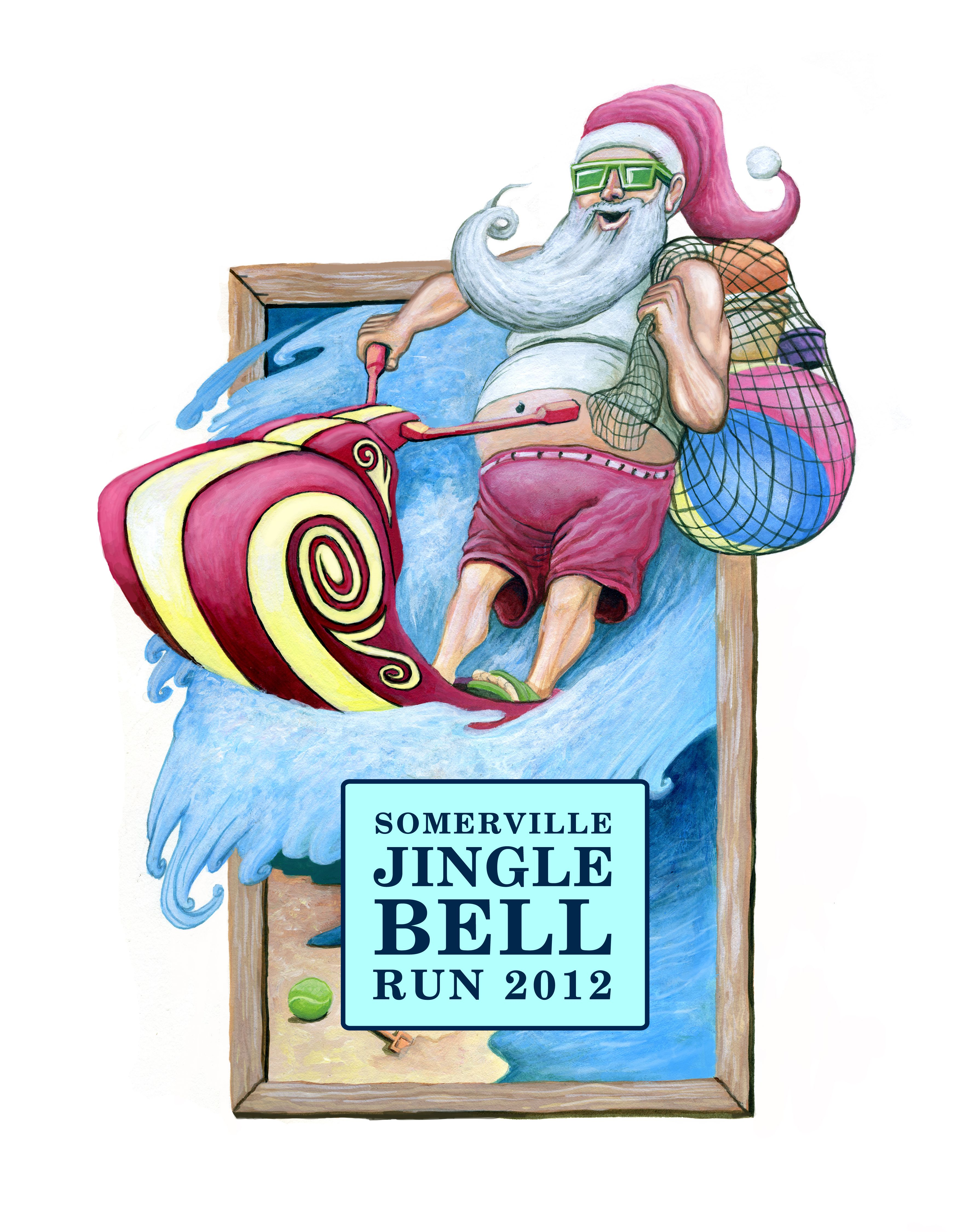 Somerville Jingle Bell Run (2009) Jingle bells, Racing