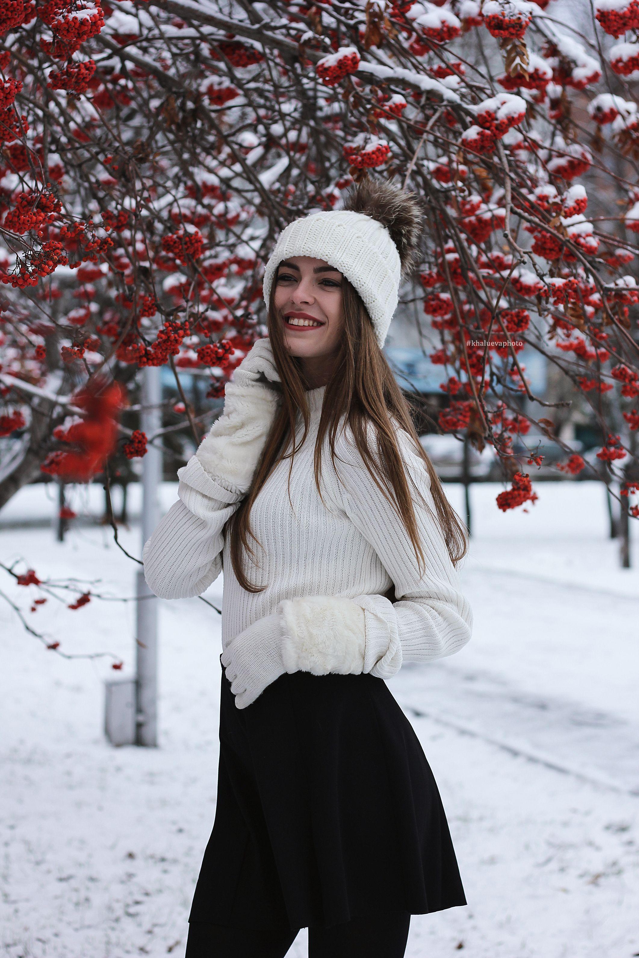 зимняя фотосессия на улице   Зимний стиль, Зимняя ...